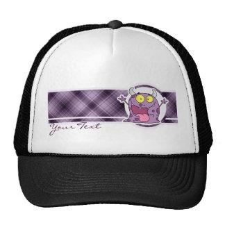 Monstruo púrpura feliz; Púrpura Gorro De Camionero