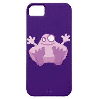 Monstruo púrpura lindo iPhone 5 fundas