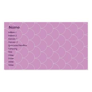 Monstruo púrpura - negocio plantillas de tarjeta de negocio