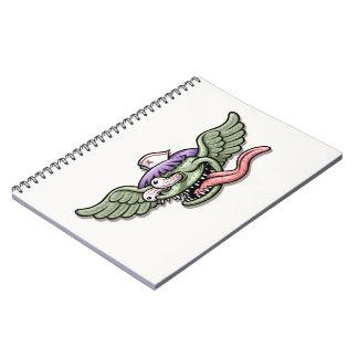 Monstruo RN de Wingy Note Book