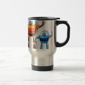 Monstruo robótico taza térmica
