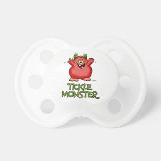 Monstruo rojo lindo de las cosquillas por send2smi chupete de bebé