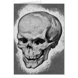 Monstruo 'Skull del vintage del kitsch Tarjeta
