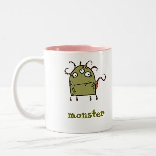 monstruo tazas