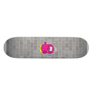 monstruo tonto que pega hacia fuera la lengua patinetas personalizadas