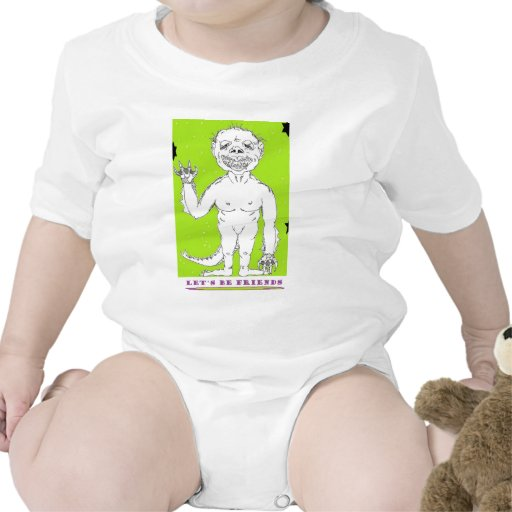 monstruo trajes de bebé