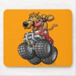 Monstruo Truck1 de Scooby Doo Alfombrilla De Raton