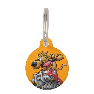 Monstruo Truck1 de Scooby Doo Identificador Para Mascota