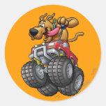 Monstruo Truck1 de Scooby Doo Pegatinas