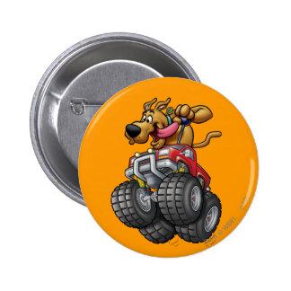 Monstruo Truck1 de Scooby Doo Pin Redondo 5 Cm