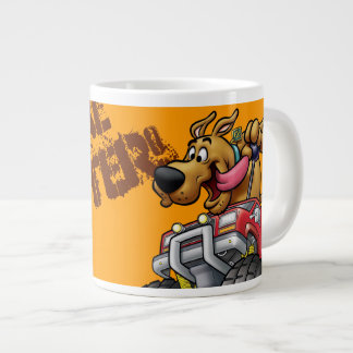Monstruo Truck1 de Scooby Doo Taza De Café Gigante