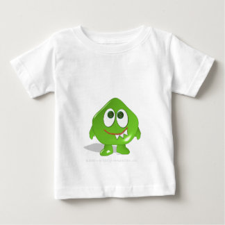 Monstruo verde de la gota camisas