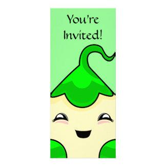 Monstruo verde de las cosquillas de Kawaii Comunicados