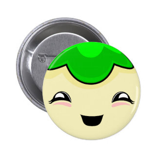 Monstruo verde de las cosquillas de Kawaii Pins