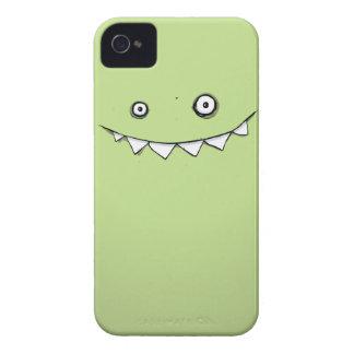 Monstruo verde feliz en mi bolsillo iPhone 4 Case-Mate carcasas