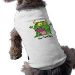 Monstruo verde (personalizado) ropa de mascota