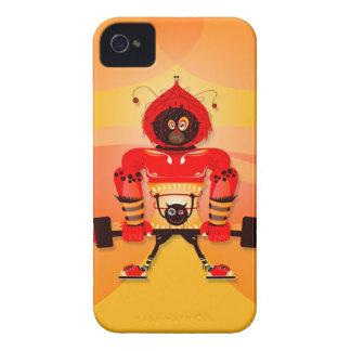 Monstruos 2 de Cutie - caso del iPhone 4 Case-Mate iPhone 4 Carcasas