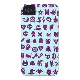 Monstruos asustadizos lindos iPhone 4 cárcasa