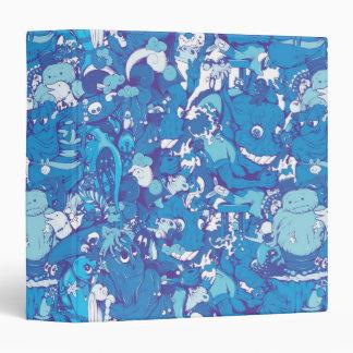 """Monstruos azules carpeta 1 1/2"""""""