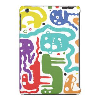 monstruos coloridos funda de iPad mini