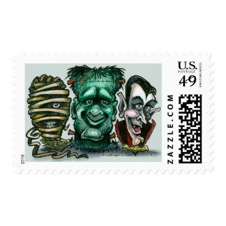 Monstruos de la película sellos