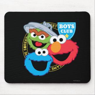 Monstruos del club de los muchachos alfombrilla de ratón