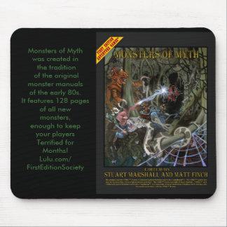 Monstruos del cojín del mito mousepad