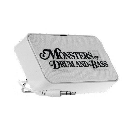 Monstruos del tambor y del altavoz del bajo