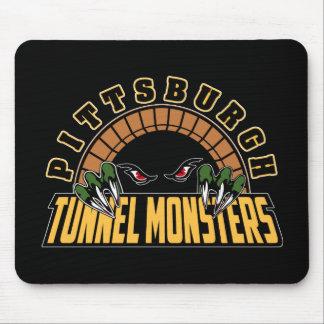 Monstruos del túnel de Pittsburgh Tapetes De Ratones