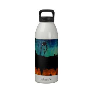Monstruos en el crepúsculo botella de agua