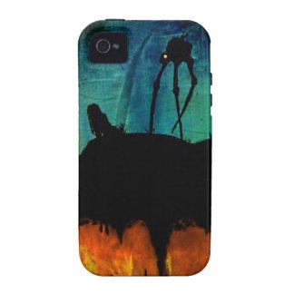 Monstruos en el crepúsculo iPhone 4/4S funda