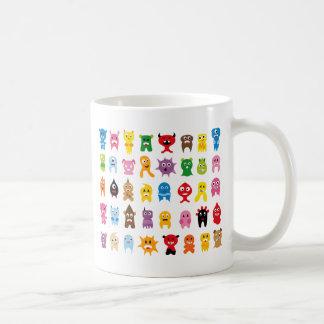 Monstruos estupendos todos taza de café