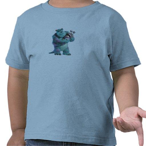 Monstruos inc. Sulley que lleva a cabo abucheo en Camiseta