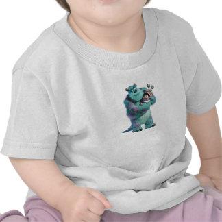 Monstruos inc Sulley que lleva a cabo abucheo en Camiseta
