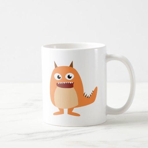 ¡Monstruos lindos! Taza De Café