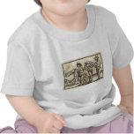 Monstruos medievales camisetas