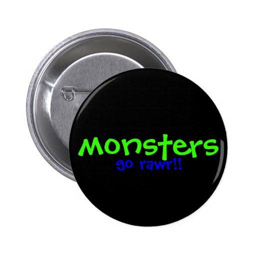 ¡Monstruos!! Pin