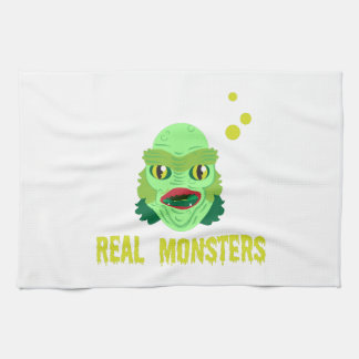 Monstruos reales toalla