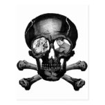 """Monstruos retros """"cráneo"""" del kitsch del vintage c postales"""