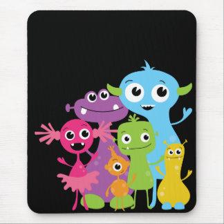 Monstruos tontos Mousepad para los niños