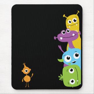 Monstruos tontos Mousepad para los niños Alfombrillas De Ratones