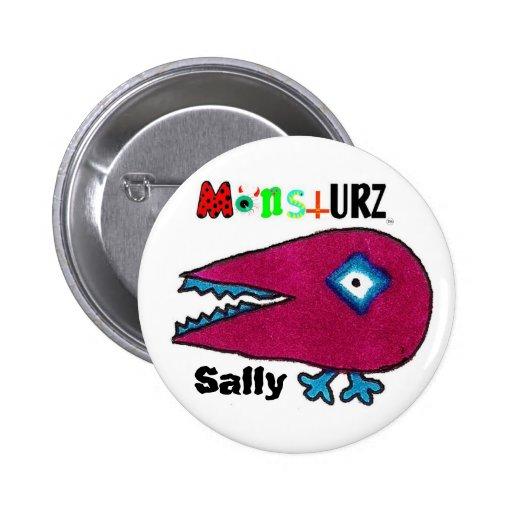 monstURZ Sally Pinback Buttons