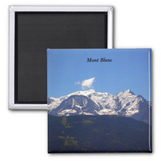 Mont Blanc - 2 Inch Square Magnet