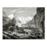 Mont Blanc de los baños de St. Desiderio Postal
