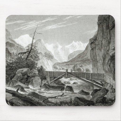 Mont Blanc de los baños de St. Desiderio Alfombrillas De Ratones