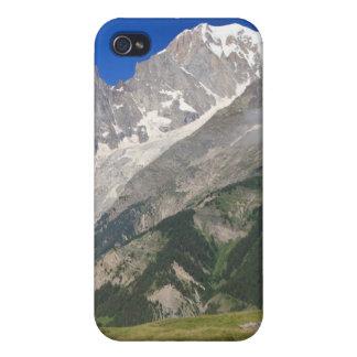 Mont Blanc del valle del hurón, Italia iPhone 4 Carcasa