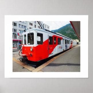 Mont Blanc express Poster
