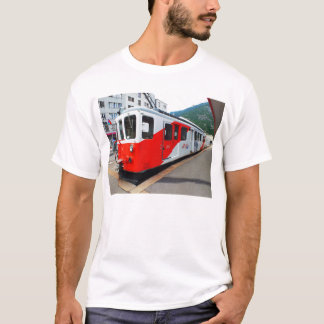 Mont Blanc express train T-Shirt