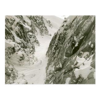 Mont Blanc, fotografía de Francia Tarjetas Postales