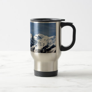 Mont Blanc France 15 Oz Stainless Steel Travel Mug